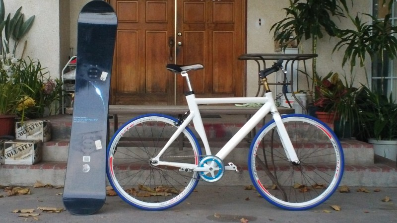 2011 Custom Built Fixie/single Speed Aero Bike